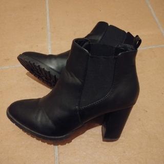 JEANASIS - 3/30限定値下げ!ショートブーツ ブラック ブーティー
