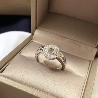 ブルガリ(BVLGARI)のレディース 指輪 JP14 BVLGARIレディース指輪(リング(指輪))