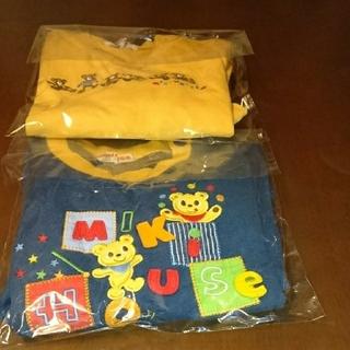 ミキハウス(mikihouse)のMIKI HOUSE 春物 トレーナー90 2着セット。(Tシャツ/カットソー)
