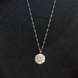 JEWELRY TSUTSUMI - 一粒ダイヤ ネックレス pt850