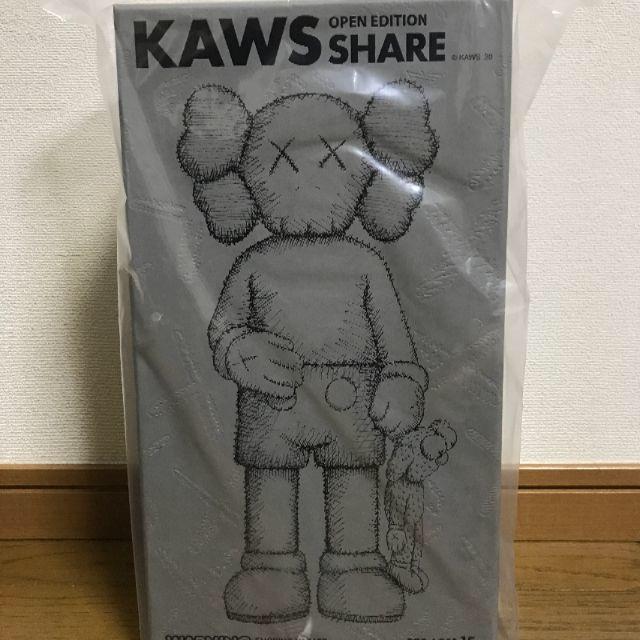 【新品未開封/即日出荷】KAWS SHARE GREY MEDICOMTOY エンタメ/ホビーのフィギュア(その他)の商品写真