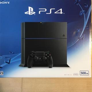 PlayStation4 - 美品 PlayStation4 ジェットブラック 500GB CUH-1200A