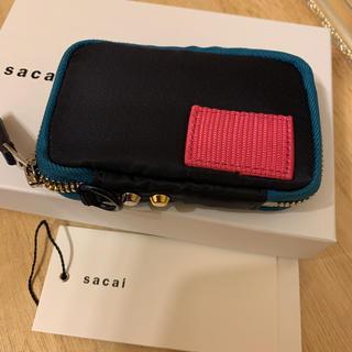 sacai - sacai サカイ×ポーター コインケースミニ財布