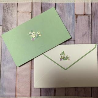 ガッケン(学研)のさくら様専用✳︎スナフキン 封筒&一筆箋セット(ノート/メモ帳/ふせん)