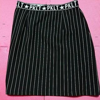 ピンクラテ(PINK-latte)のPINK-latteタイトスカート(ひざ丈スカート)