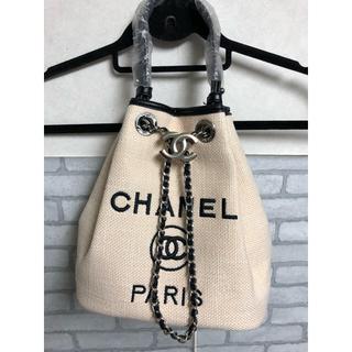 CHANEL - 新品未使用☆シャネル ノベルティ 巾着 ショルダーバッグ