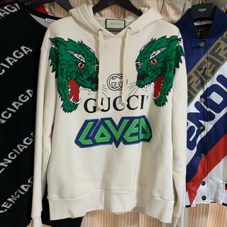Gucci - GUCCI タイガーパーカー