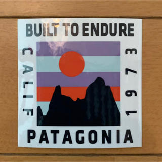 patagonia - 非売品 パタゴニア ステッカー