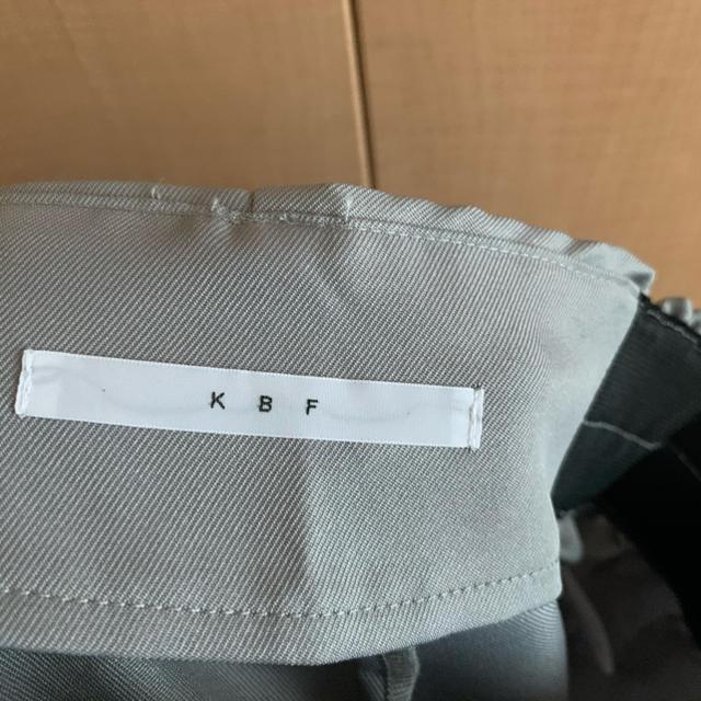 KBF(ケービーエフ)のKBF ワイドパンツ レディースのパンツ(カジュアルパンツ)の商品写真
