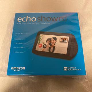 エコー(ECHO)の新品未開封 echo show5 (スピーカー)