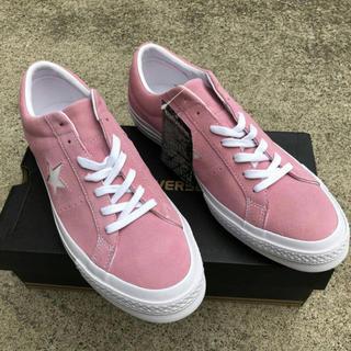 コンバース(CONVERSE)のconverse one star ワンスター ピンク pink スエード(スニーカー)