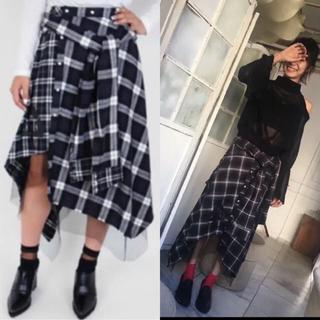 AULA AILA - AULA ♡ アウラ LiSA着用 チェック柄 スカート