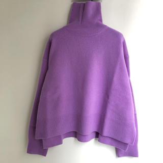 LE CIEL BLEU - 最後5時間特別7800❤️ほぼ新品❤️ルシェルブルー ウールカシミヤセーター