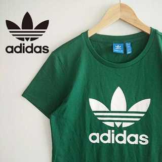 adidas - 799 希少 カラー アディダスオリジナルス デカロゴ Tシャツ