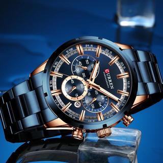 新品 国内未発売 人気ブランドCURREN腕時計 送料無料