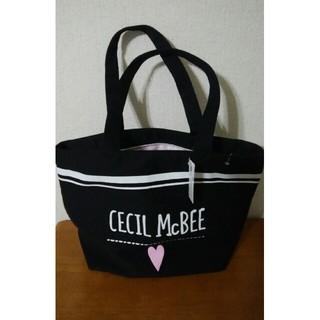 CECIL McBEE - セシルマクビー トートバッグ ブラック