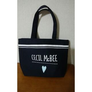 CECIL McBEE - セシルマクビー トートバッグ ネイビー