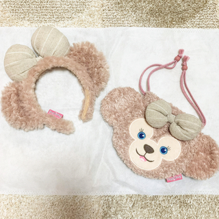 Disney - Disney シェリーメイ 美品(カチューシャ/巾着)
