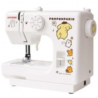 サンリオ ポムポムプリン 電動ミシン 軽量 コンパクト ミシン 初心者 厚地縫い