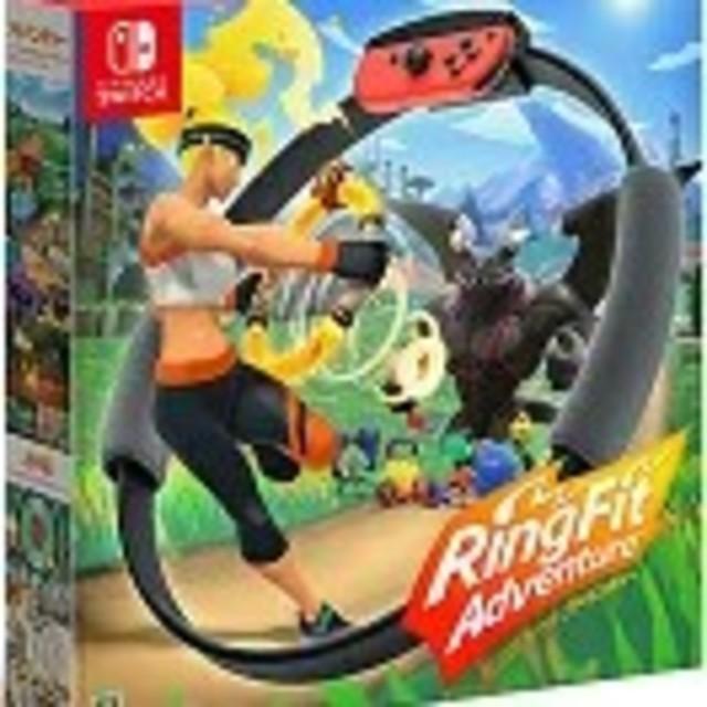 Nintendo Switch(ニンテンドースイッチ)のリングフィット アドベンチャー×2点 新品 任天堂スイッチ エンタメ/ホビーのゲームソフト/ゲーム機本体(家庭用ゲームソフト)の商品写真