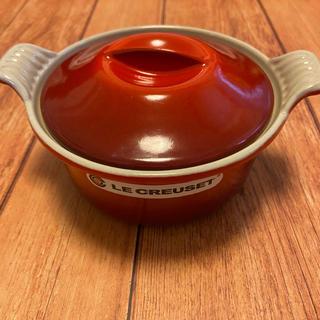 ルクルーゼ(LE CREUSET)の最終価格*ルクルーゼ テリーヌロンド14cm チェリーレッド(鍋/フライパン)