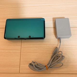 ニンテンドー3DS - ニンテンドー3DS 本体 グリーン 充電器セット Nintendo3DS