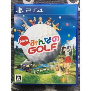 PlayStation4 - New みんなのGOLF ps4 動作確認済み