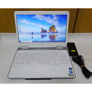 NEC - NEC LaVie Core i5 SSD 128GB Win10 ブルーレイ