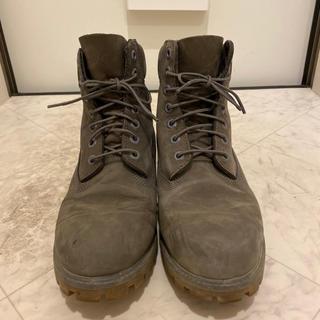 ティンバーランド(Timberland)のティンバーランド ブーツ A114K 4040 グレー サイズ8W☆26.0cm(ブーツ)