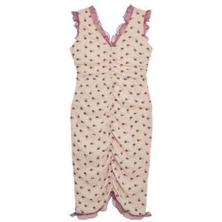 本日限定出品 kloset クロセット 小花柄ワンピース ピンク