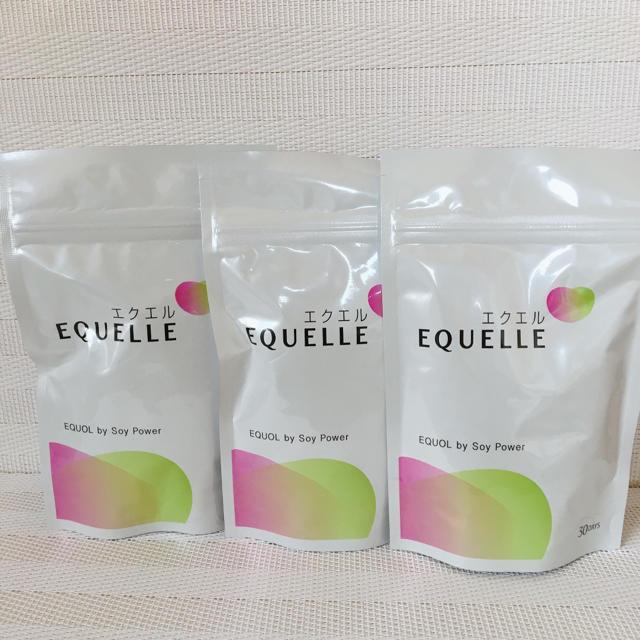 大塚製薬(オオツカセイヤク)のエクエル120粒入×3個 コスメ/美容のダイエット(ダイエット食品)の商品写真