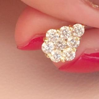 k18 0.7カラット ダイヤモンドネックレス