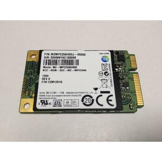 SAMSUNG - Samsung 256GB mSATA SSD 239時間利用