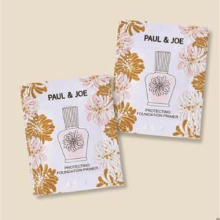 ポールアンドジョー(PAUL & JOE)のポール&ジョープロテクティング ファンデーション プライマーサンプル(化粧下地)