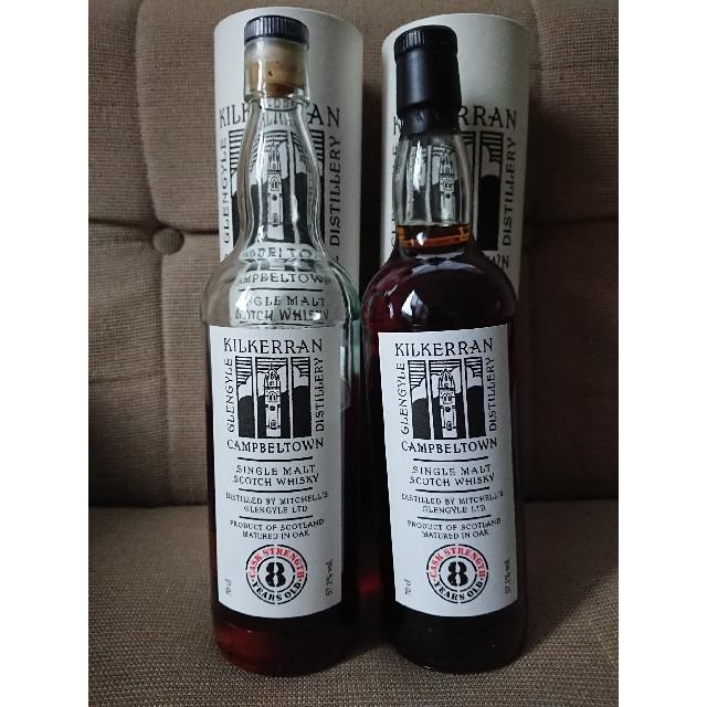 キルケラン 8年 オロロソシェリー 57.1%  食品/飲料/酒の酒(ウイスキー)の商品写真