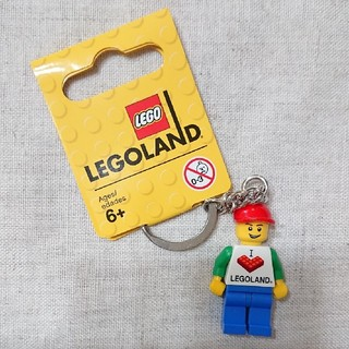 レゴ(Lego)のレゴランド キーチェーン ①(キャラクターグッズ)