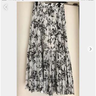 FRAY I.D - フレイアイディープリーツロングスカート美品