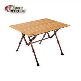 コールマン(Coleman)のらく太郎様 専用Coleman バンブーラウンジテーブル 100(テーブル/チェア)