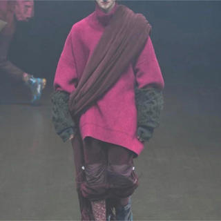 UNDERCOVER - アンダーカバー オーバーサイズ ハイネック ニット セーター