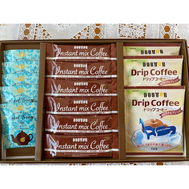 未使用、ドトールギフトセット! 食品/飲料/酒の飲料(コーヒー)の商品写真
