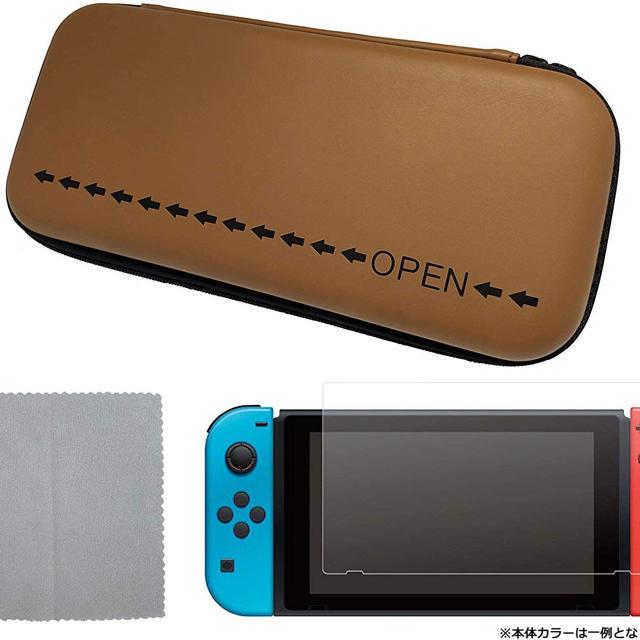 Nintendo Switch(ニンテンドースイッチ)の新型 新品 保証有 ニンテンドー スイッチ ネオンブルー + アクセサリーセット エンタメ/ホビーのゲームソフト/ゲーム機本体(家庭用ゲーム機本体)の商品写真