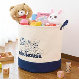 mikihouse - 【新品未開封】ミキハウス ストレージトート、おもちゃ箱、ランドリーボックス