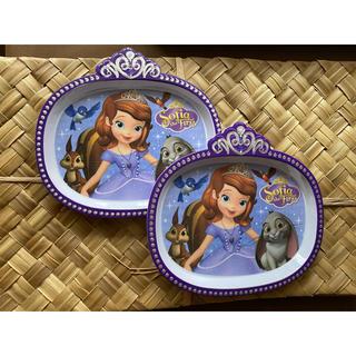 ディズニー(Disney)の小さなプリンセス ソフィア お皿 2枚 プレート ディズニー(プレート/茶碗)