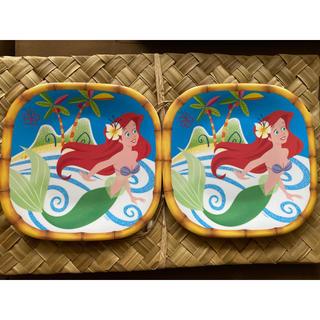 ディズニー(Disney)の海外  アリエル プレート2枚 お皿 ディズニー(プレート/茶碗)