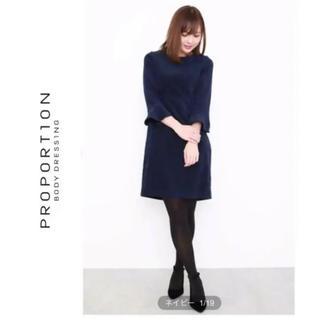 プロポーションボディドレッシング(PROPORTION BODY DRESSING)の新品¥14,472♡プロポーション ボディドレッシング♡バックレースワンピース(ひざ丈ワンピース)