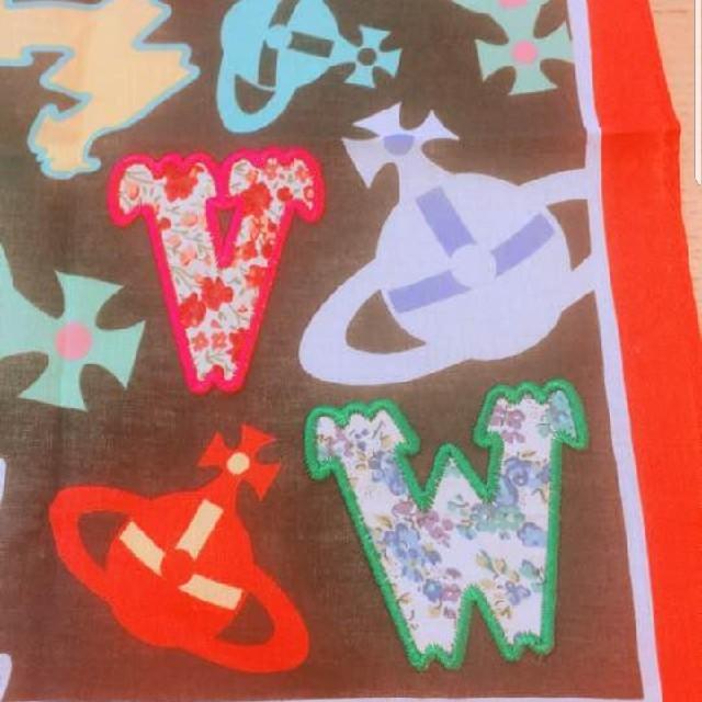 Vivienne Westwood(ヴィヴィアンウエストウッド)のヴィヴィアン レアハンカチ レディースのファッション小物(ハンカチ)の商品写真