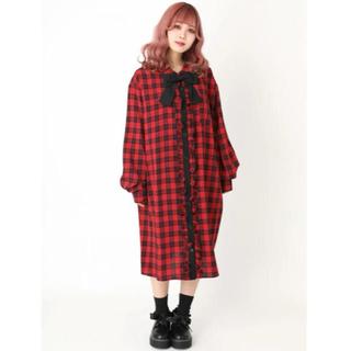 Ank Rouge - 新品 jamieエーエヌケー チェックワンピース 人気商品 完売 アンクルージュ