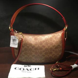 COACH - COACH コーチ52577サットンクロスボディシグネチャーキャンバスバッグ新品