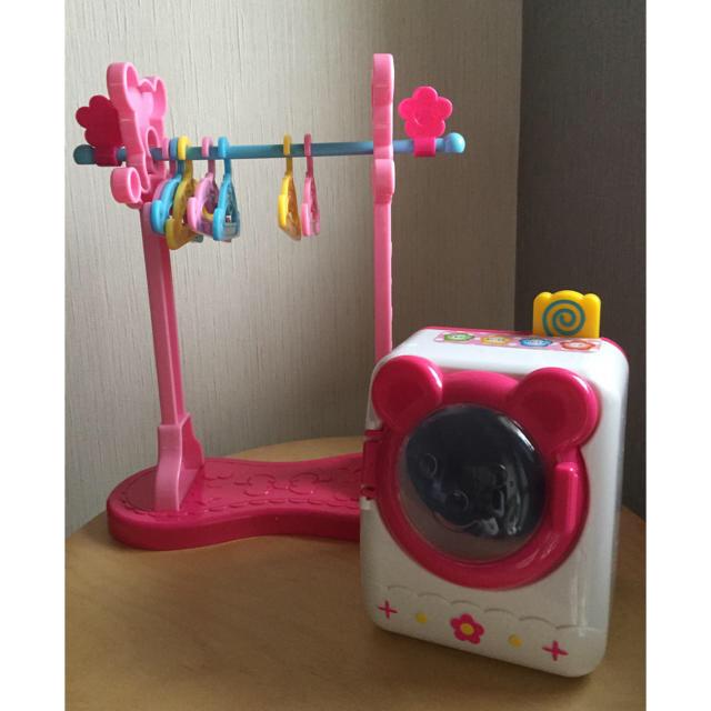 PILOT(パイロット)のメルちゃん 洗濯機 ハンガー増量 キッズ/ベビー/マタニティのおもちゃ(知育玩具)の商品写真