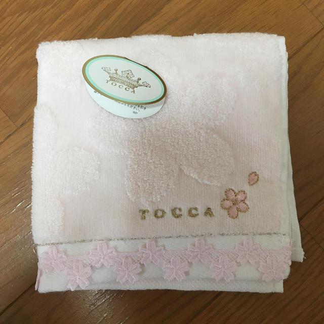 新品 ハンカチ  桜柄  レディースのファッション小物(ハンカチ)の商品写真